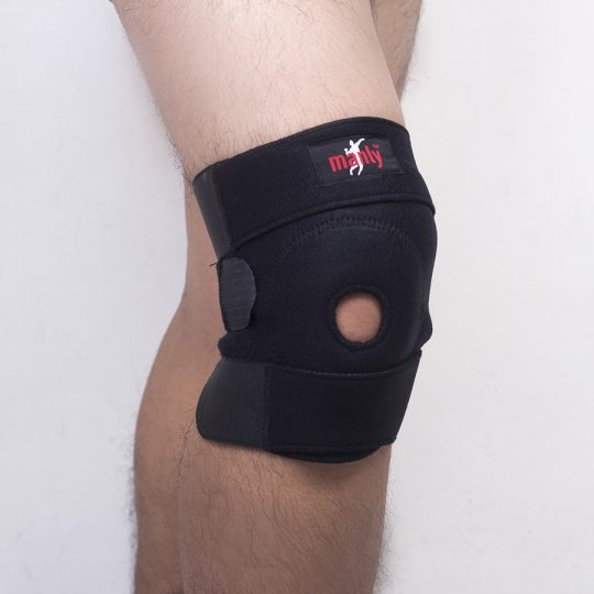 Manly Neoprene Open Patella Knee Support (60-06)