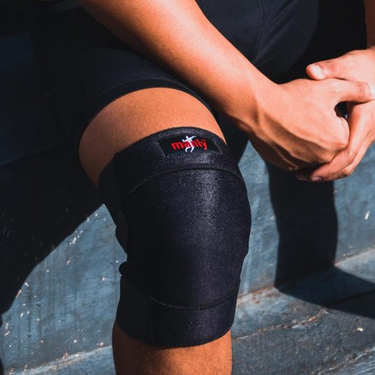 neoprene close patella knee support