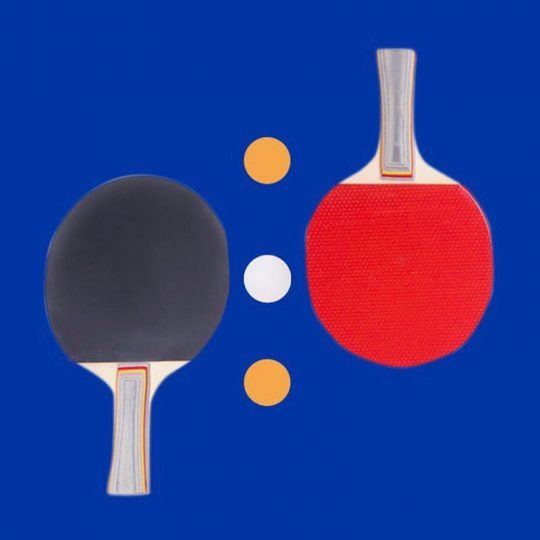 Manly Table Tennis Racket with Balls (TR-828)