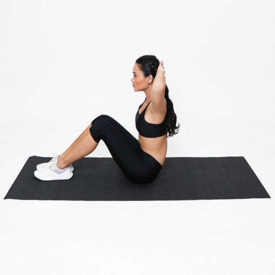 Yoga Mat PVC Black