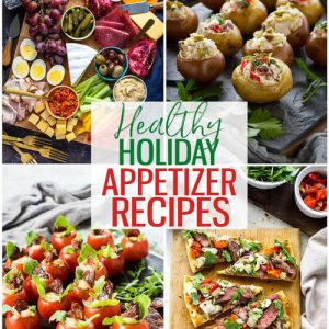 HEALTHY HOLIDAY APPETIZER RECIPES