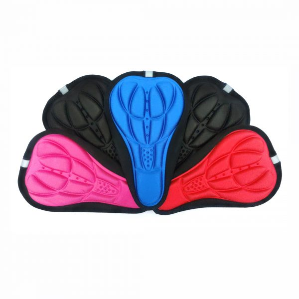 Manly padded bicycle seat cover