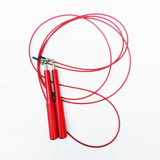 Manly red speed rope